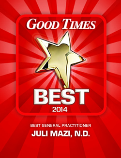 Good Times Best 2014 Best General Practitioner
